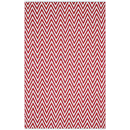 Safavieh Montauk 4' x 6' Monroe Rug in Red
