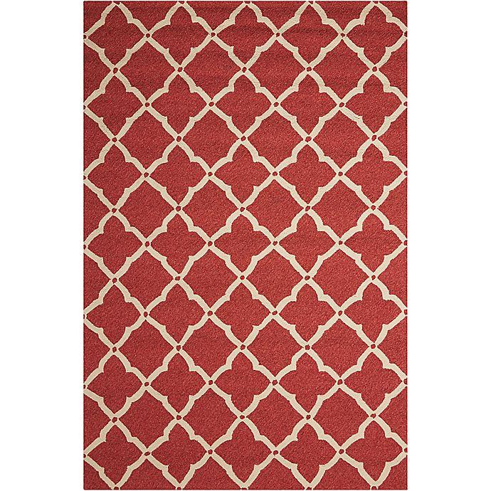 Alternate image 1 for Nourison Home & Garden Portico 27' x 45' Area Rug in Red