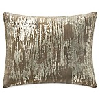 Highline Bedding Co. Madrid Distressed Throw Pillow in Gold