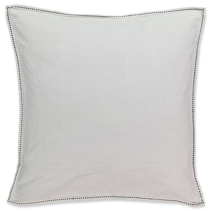Alternate image 1 for Beautyrest® Chacenay European Pillow Sham in Grey
