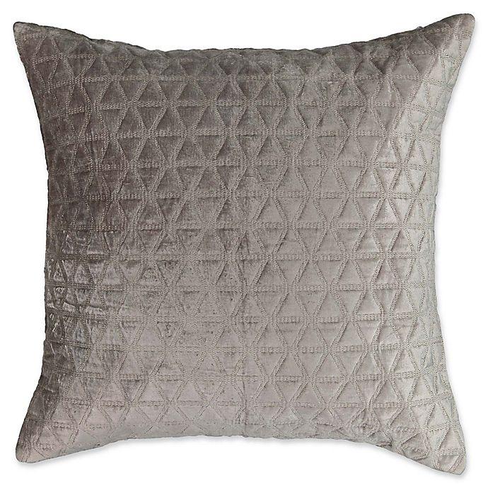 Alternate image 1 for Beautyrest® Social Call European Pillow Sham in Grey
