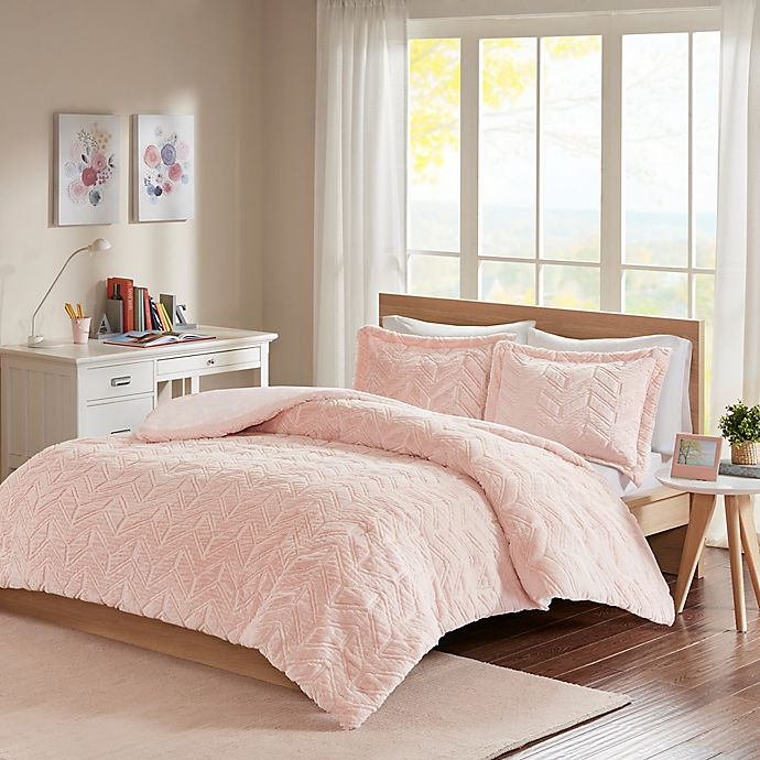 Intelligent Design Laila Chevron Comforter Set Bed Bath Beyond