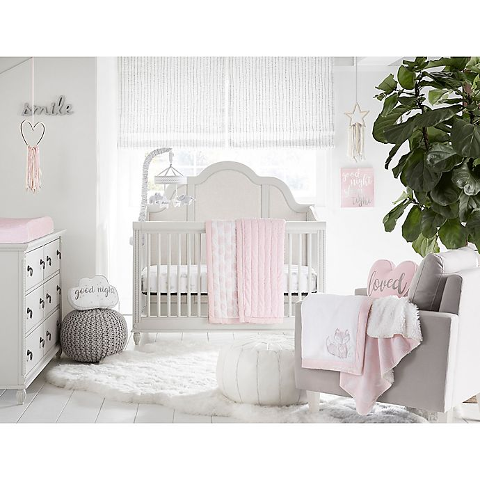 Alternate image 1 for Wendy Bellissimo™ Mix & Match Lil Fox Crib Bedding Collection in Pink
