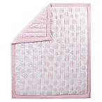 Wendy Bellissimo™ Mix & Match Reversible Medallion Quilt in Pink/White