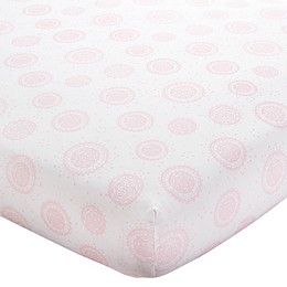 Wendy Bellissimo™ Mix & Match Medallion Print Fitted Crib Sheet