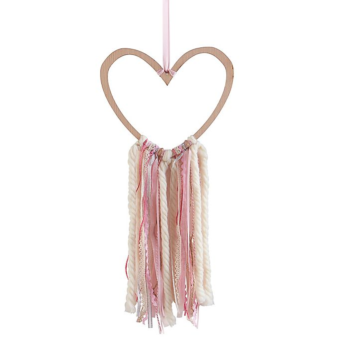 Alternate image 1 for Wendy Bellissimo™ Mix & Match Wood Heart Ribbon Wall Art