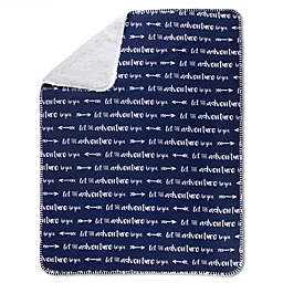 Wendy Bellissimo™ Mix & Match Adventure Blanket in Navy