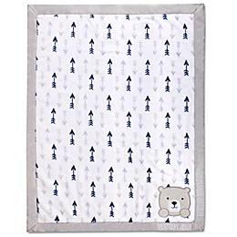 Wendy Bellissimo™ Mix & Match Bear Cub Appliqued Blanket