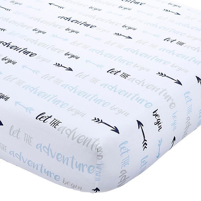 Alternate image 1 for Wendy Bellissimo™ Mix & Match Adventure Fitted Crib Sheet