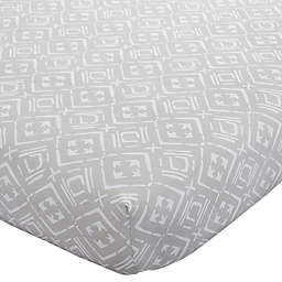 Wendy Bellissimo™ Mix & Match Aztec Print Fitted Crib Sheet