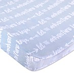 Wendy Bellissimo™ Mix & Match Adventure Velboa Changing Pad Cover in Navy