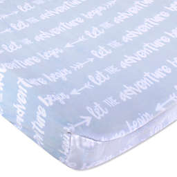 Wendy Bellissimo™ Mix & Match Adventure Velboa Changing Pad Cover in Blue