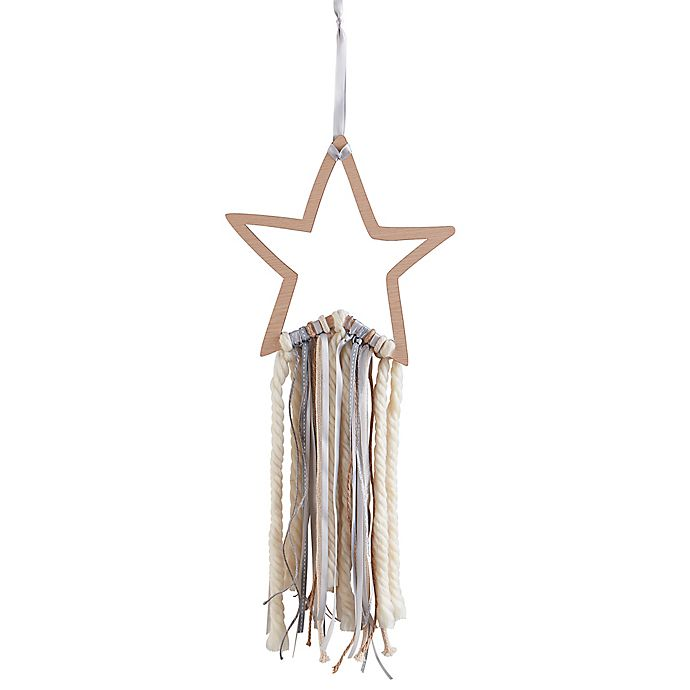 Alternate image 1 for Wendy Bellissimo™ Mix & Match Wood Star Ribbon Wall Art