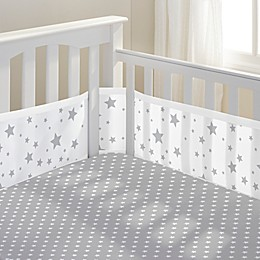 BreathableBaby® Star Light 3-Piece Classic Crib Bedding Set in Grey