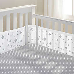 BreathableBaby® Star Light Classic Crib Bedding Collection in Grey