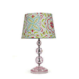 The Peanutshell™ Blushing Bloom Lamp Base and Shade
