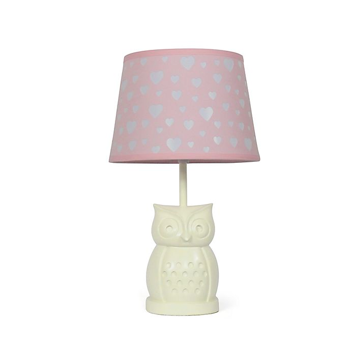 Alternate image 1 for The Peanutshell™ Owl Peek A Boo Heart Lamp