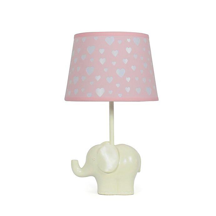 Alternate image 1 for The Peanutshell™ Elephant Peek A Boo Heart Lamp