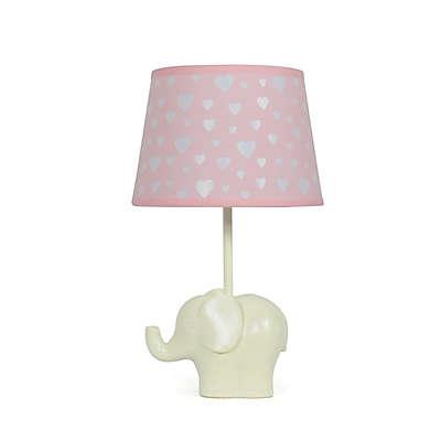 The Peanutshell™ Elephant Peek A Boo Heart Lamp