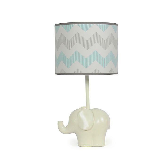 Alternate image 1 for The Peanutshell™ Elephant Chevron Lamp