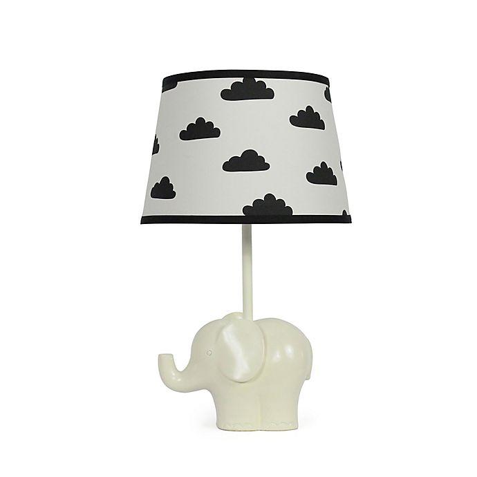 Alternate image 1 for The Peanutshell™ Elephant Black Cloud Lamp