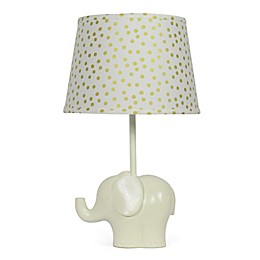 The Peanutshell™ Elephant Gold Confetti Lamp