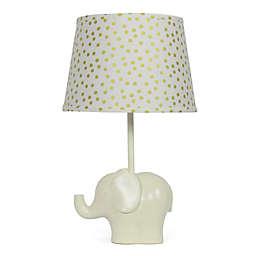 The Peanutshell™ Elephant Gold Confetti Lamp