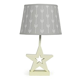 The PeanutShell™ Star Grey Arrows Lamp