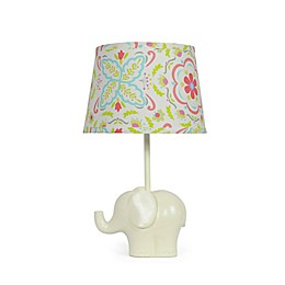 The PeanutShell™ Elephant Bouquet Lamp