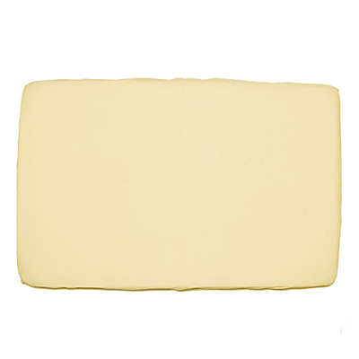 Bambino Woven Fitted Portable Crib Sheet in Ivory