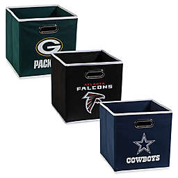NFL Collapsible Storage Bin Collection
