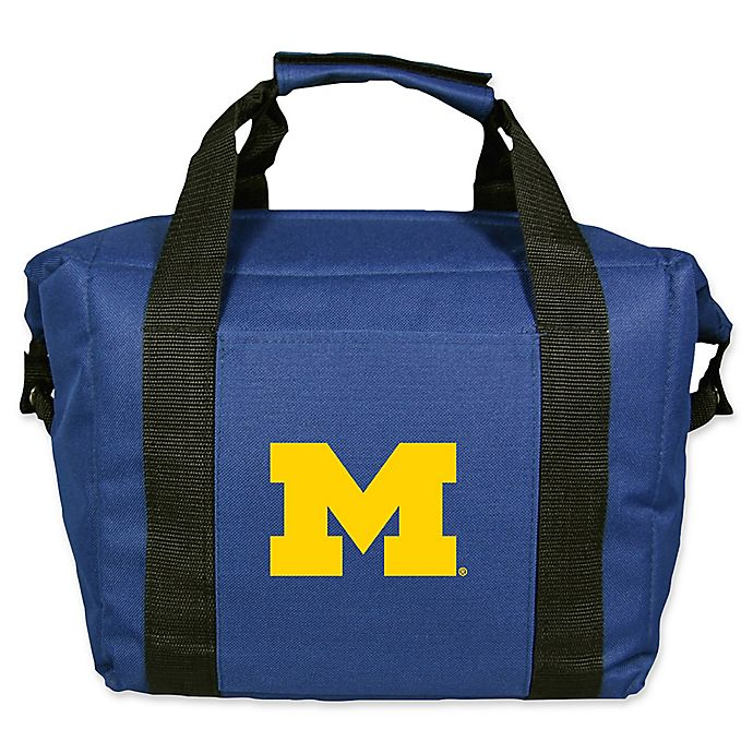 Alternate image 1 for University of Michigan Wolverines 12-Can Cooler Bag