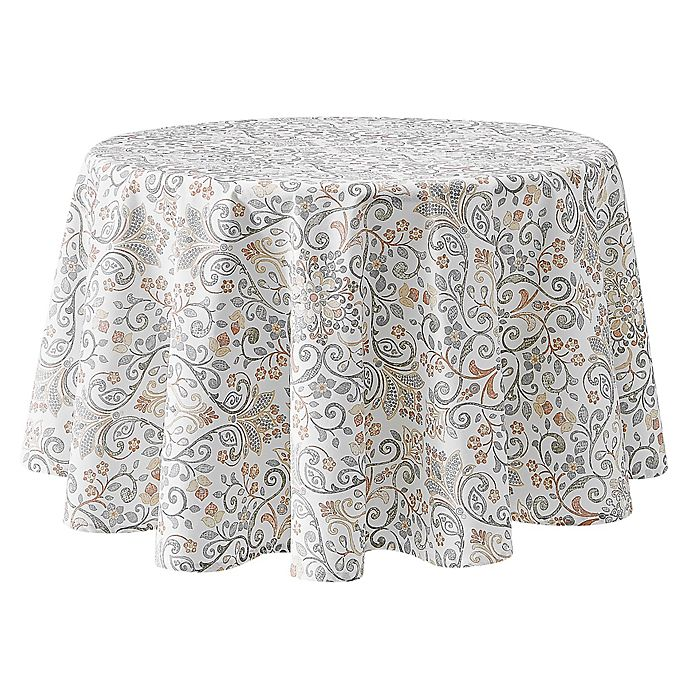 Alternate image 1 for Lizzie 70-Inch Round Tablecloth in Blush