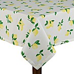 kate spade new york Make Lemonade 60-Inch x 102-Inch Oblong Tablecloth