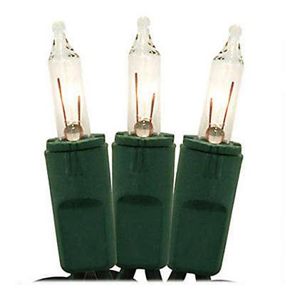 Bethlehem Lighting 49.8-Foot 100-Light Clear Mini Christmas String Lights