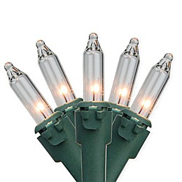 Northlight 62.25-Foot 300-Light Clear Mini Incandescent Christmas String Lights