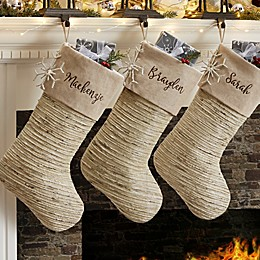 Winter Sparkle Christmas Stocking