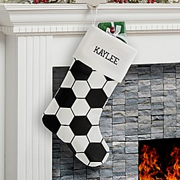 Soccer Ball Christmas Stocking