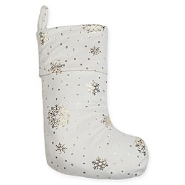 Berkshire Blanket® Shimmering Snowflakes Stocking