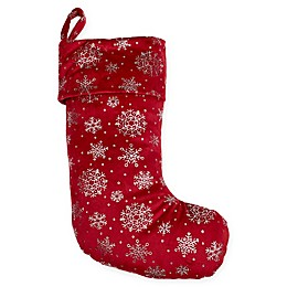 Berkshire Blanket® Shimmering Snowflakes Stocking