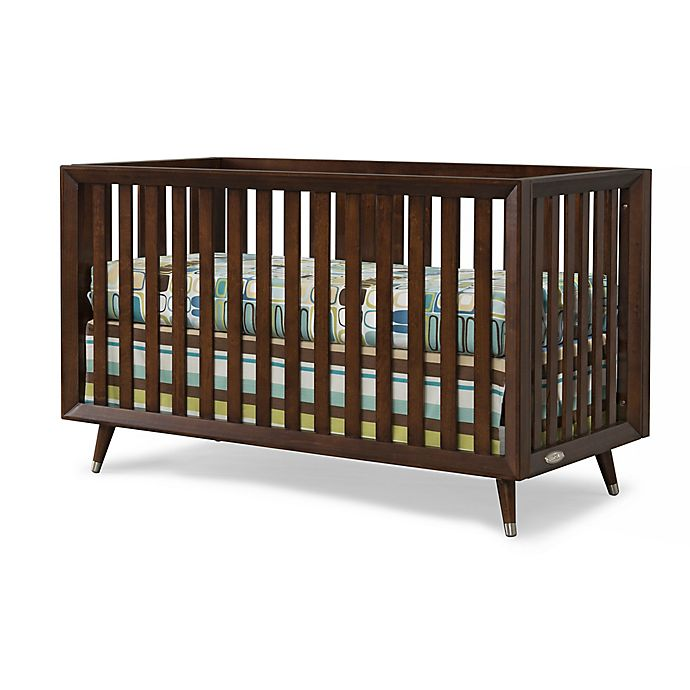 Alternate image 1 for Child Craft™ Notting Hill 4-in-1 Convertible Euro Crib in Chocolate