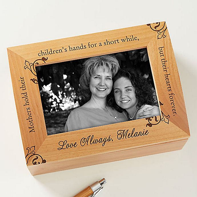 Alternate image 1 for To My Mother Photo Keepsake Box