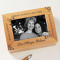 To My Mother Photo Keepsake Box