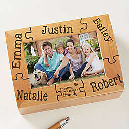 Together We Make a Family Photo Keepsake Box