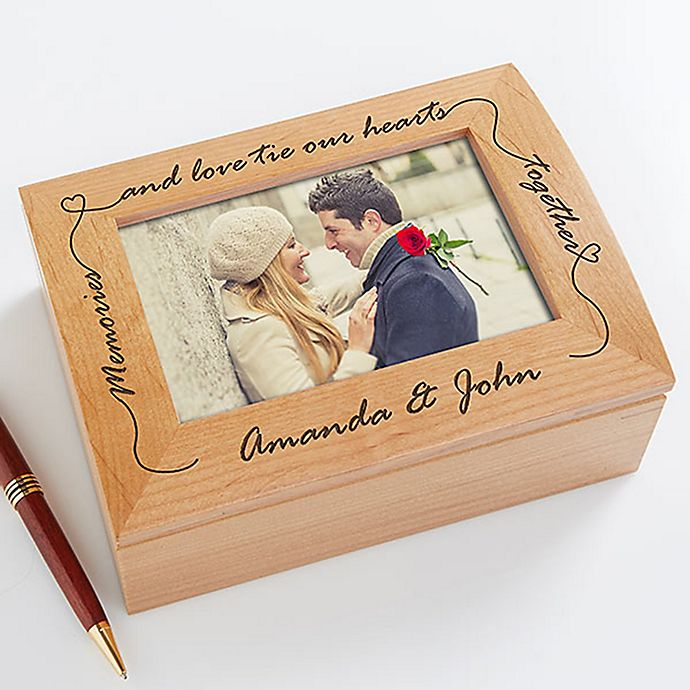 Alternate image 1 for Our Memories and Love Photo Box