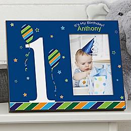 Birthday Boy Picture Frame