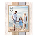 Prinz Coastal 8-Inch x 10-Inch Multicolor Wood Plank Picture Frame