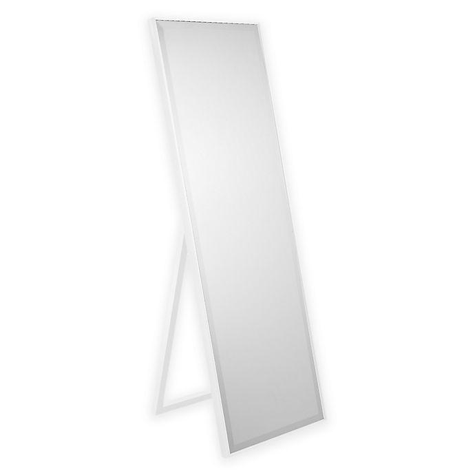 Alternate image 1 for Cheval 59.5-Inch x 19.5-Inch Rectangular Mirror in White