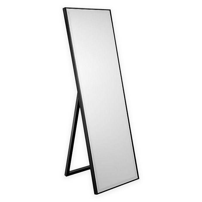 Alternate image 1 for Cheval 59.5-Inch x 19.5-Inch Mirror in Black