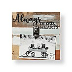 Sweet Bird & Co. 4-Inch x 6-Inch  Always  Reclaimed Wood Clip Frame in Blue Whisper